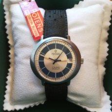 Relojes de pulsera: PRECIOSO RELOJ SUIZO POTENS CALENDARIO 3 ATMOS TOTALMENTE NUEVO. Lote 219077518