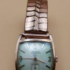 Relojes de pulsera: RELOJ PULSERA FLICA. CARGA MANUAL. Lote 219231806