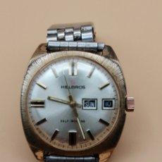 Relojes de pulsera: RELOJ PULSERA HELBROS SELF-WINDING WEST GERMANY. Lote 219232392