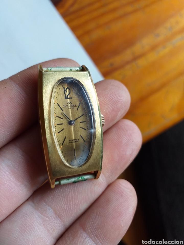 Relojes de pulsera: RELOJ SILVANA 17 JEWELS - Foto 5 - 220565525