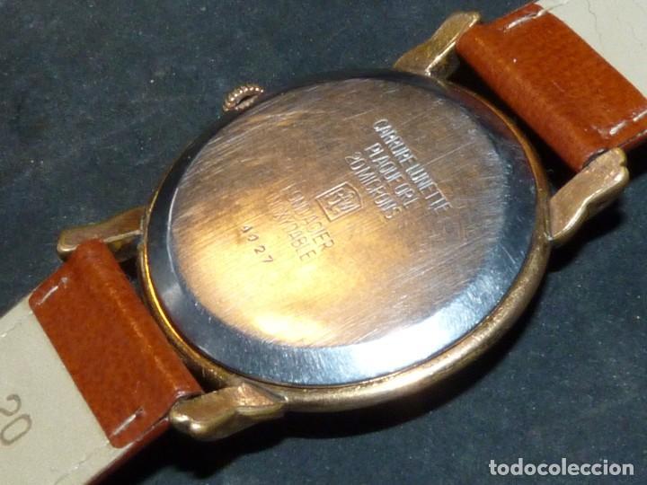 Relojes de pulsera: Precioso reloj Fortis incabloc calibre FHF 27 swiss made 17 rubis años 50 bonita caja art deco raro - Foto 4 - 220680027