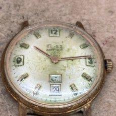 Relojes de pulsera: RELOJ ELES CARGA MANUAL PARA PIEZAS. Lote 220945401