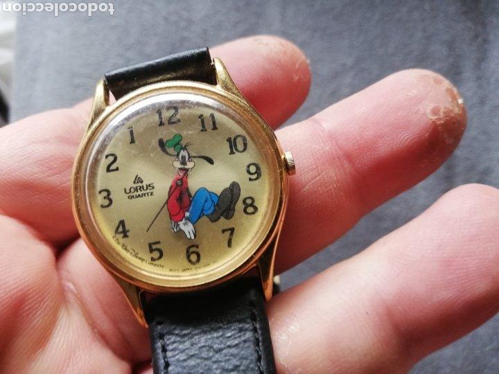 Relojes de pulsera: Reloj de pluto con marcaje de la hora al contrario del sentido normal del reloj.. Curioso - Foto 3 - 221166833