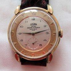 Relojes de pulsera: RELOJ DOGMA PRIMA DE CUERDA AÑOS 60 GRANDE 40 MM. Lote 221392530