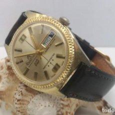 Relojes de pulsera: RELOJ VINTAGE CUERDA BOURBON - 23 RD STREET - (BFG 866CLDD) - 35.5MM - DIA & FECHA. Lote 221586167