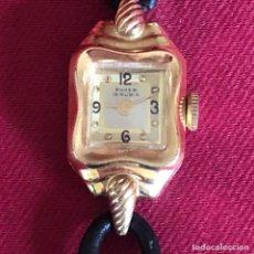 Relojes de pulsera: ESQUISITO RELOJ ANTIGUO AÑOS 30. Lote 221685342