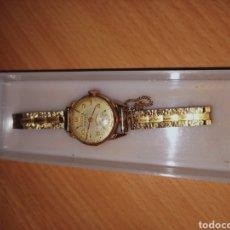 Relojes de pulsera: CAUNY PRIMA CHAPADO EN ORO. Lote 221708575
