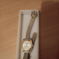 Relojes de pulsera: RELOJ FLICA 17 RUBIS CHAPADO EN ORO. Lote 221709293