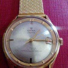 Relojes de pulsera: IMPRESIONANTE Y BONITO RELOJ ONSA SHYMAN. Lote 222034411