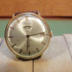 Relojes de pulsera: CAUNY TRIOMPH E CORDA VINTSGE. Lote 222384458