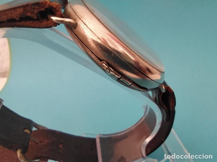Relojes de pulsera: RELOJ OMEGA MILITAR AÑO 1916 TAPA DE BISAGRA - Foto 7 - 222242598