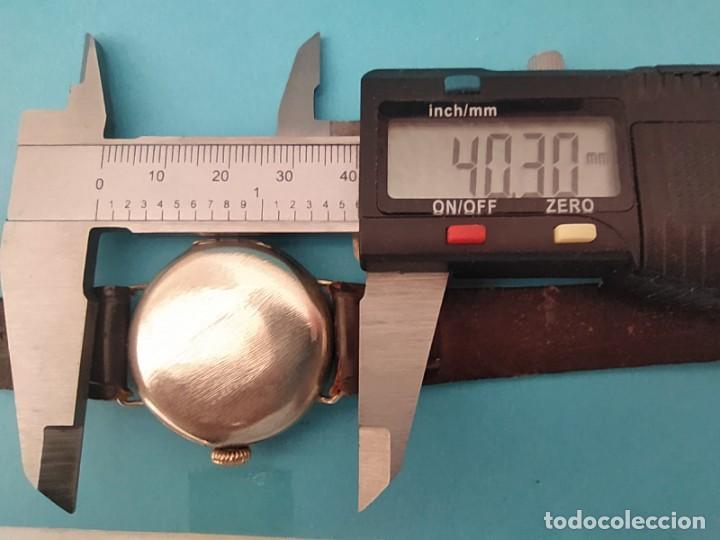 Relojes de pulsera: RELOJ OMEGA MILITAR AÑO 1916 TAPA DE BISAGRA - Foto 11 - 222242598