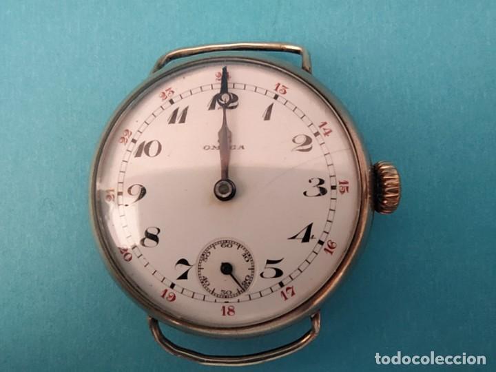 Relojes de pulsera: RELOJ OMEGA MILITAR AÑO 1916 TAPA DE BISAGRA - Foto 13 - 222242598