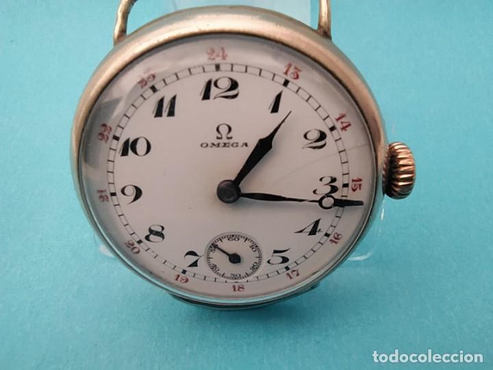 Relojes de pulsera: RELOJ OMEGA MILITAR AÑO 1916 TAPA DE BISAGRA - Foto 14 - 222242598