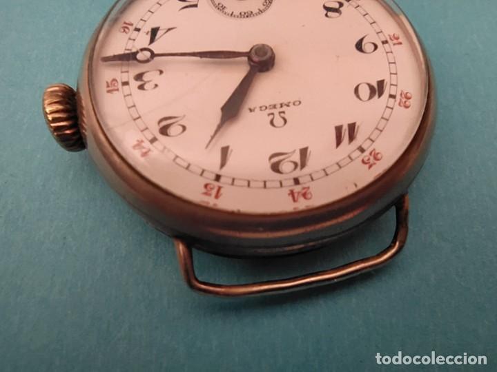 Relojes de pulsera: RELOJ OMEGA MILITAR AÑO 1916 TAPA DE BISAGRA - Foto 16 - 222242598