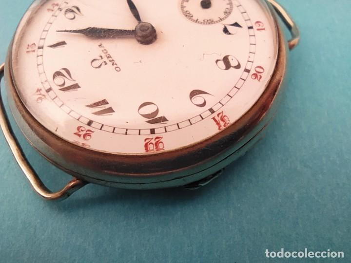 Relojes de pulsera: RELOJ OMEGA MILITAR AÑO 1916 TAPA DE BISAGRA - Foto 17 - 222242598
