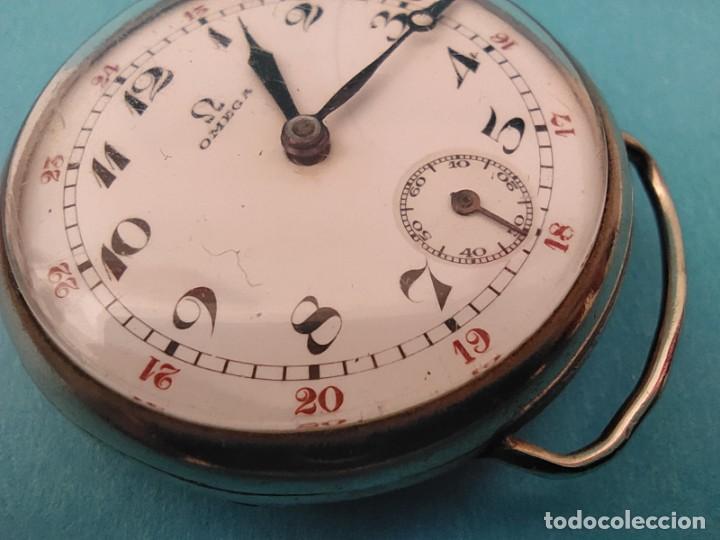 Relojes de pulsera: RELOJ OMEGA MILITAR AÑO 1916 TAPA DE BISAGRA - Foto 18 - 222242598