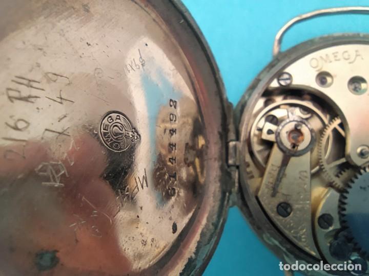 Relojes de pulsera: RELOJ OMEGA MILITAR AÑO 1916 TAPA DE BISAGRA - Foto 25 - 222242598