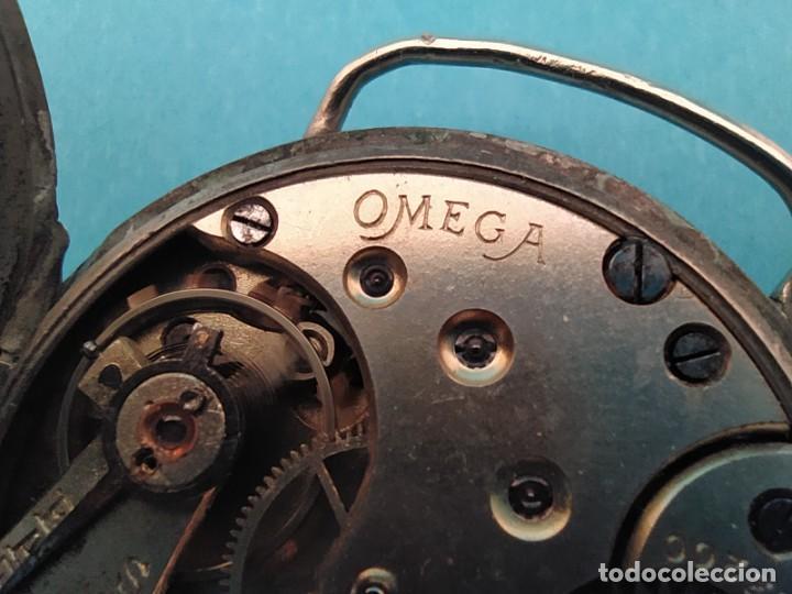 Relojes de pulsera: RELOJ OMEGA MILITAR AÑO 1916 TAPA DE BISAGRA - Foto 32 - 222242598