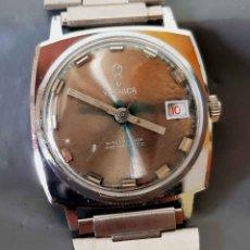 Relojes de pulsera: RELOJ YASHICA DE CUERDA, VINTAGE, C1970,. Lote 222577597