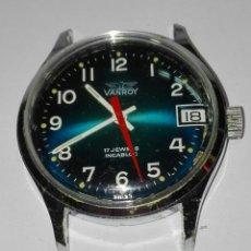Relógios de pulso: RELOJ DE PULSERA VANROY JEY - KAR FUNCIONA. Lote 222816668
