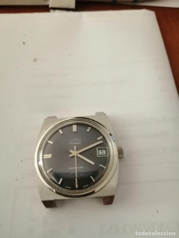 RELOJ PULSERA CABALLERO VANROY, AUTOMÁTICO 80'S. (Relojes - Pulsera Carga Manual)