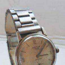 Relógios de pulso: INCITUS MECANICO CABALLERO 34MM CON ARMYS TODO ACERO. Lote 222984211
