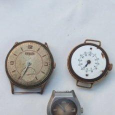 Relojes de pulsera: LOTE 3 RELOJES ANTIGUOS.. Lote 223137026