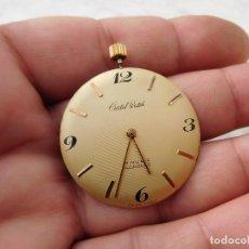 Relojes de pulsera: MECANISMO DE RELOJ DE PULSERA MANUAL CRISTAL WATCH JULES JURGENSEN CORP. CAL. P 330 FUNCIONA. Lote 223516017