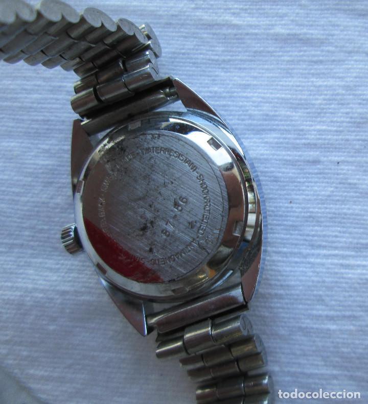 Relojes de pulsera: RELOJ DE PULSERA ROYCE CARGA MANUAL-CUERDA - CALENDARIO- FUNCIONANDO - DE ACERO INOXIDABLE CADENA RE - Foto 4 - 224015207