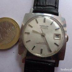 Relógios de pulso: AÑOS 60 VINTAGE RARO Y BONITO RELOJ CABALLERO A CUERDA MARUBI BUEN ESTADO FUNCIONANDO. Lote 224029096