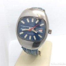 Relojes de pulsera: RELOJ BULER DE CARGA MANUAL, SWISS MADE 17 JEWELS - CAJA 35 MM - FUNCIONANDO. Lote 224895505