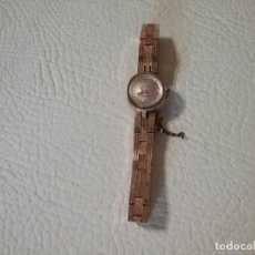 Relojes de pulsera: RELOJ DE MUJER RADIANT INCABLOC LUNETTE PLAQUE OR 20 MICRONS. Lote 224907633