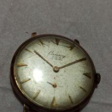 Relojes de pulsera: CAUNY ÚNICO NO FUNCIONA 15 RUBIS ESTA LA MAQUINARIA COMPLETA PERO NO FUNCIONA. Lote 224949157