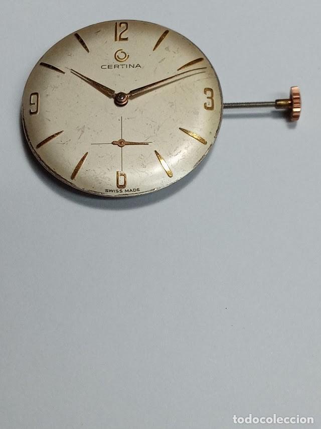 CERTINA / KF - 330 - MÁQUINA COMPLETA REVISADA - FUNCIONANDO - 3 FOTOS (CD- 005 ) (Relojes - Pulsera Carga Manual)