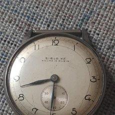 Relógios de pulso: RELOJ DE PULSERA CABALLERO CARGA MANUAL SIGLO XX ANCRE 15 RUBIS, NO FUNCIONA. Lote 227823215
