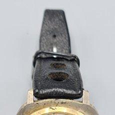 Relojes de pulsera: RELOJ DE PULSERA. CASWATCH DE LUXE. METAL DORADO. TAPA DE ACERO. CIRCA 1960.. Lote 228092310