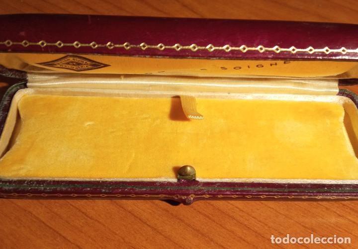 Relojes de pulsera: Estuche en piel Unión Suiza de Relojeria.Horlogerie Soignée Rambla Cataluña 17 - Foto 3 - 224395102