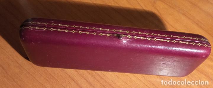 Relojes de pulsera: Estuche en piel Unión Suiza de Relojeria.Horlogerie Soignée Rambla Cataluña 17 - Foto 5 - 224395102