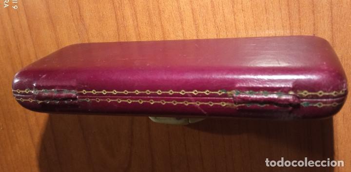Relojes de pulsera: Estuche en piel Unión Suiza de Relojeria.Horlogerie Soignée Rambla Cataluña 17 - Foto 6 - 224395102