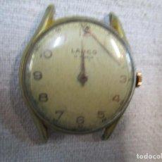 Relojes de pulsera: RELOJ SUIZO PULSERA Y CARGA MANUAL ' LANCO ' AVERIADO - 15 RUBIS + CORREO ORDINARIO 1.15€ + INFO. Lote 228169830