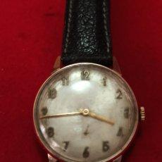 Relojes de pulsera: CAUNY PRIMA DE LUXE 17 RUBIS CALIBRE 152 FUNCIONA BIEN CHAPADO 10 MICRAS 0RO FUNCIONA BIEN. Lote 228346130