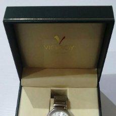 Relojes de pulsera: RELOJ PULSERA VICEROY ACERO INOXIDABLE FUNCIONA PERFECTAMENTE,EN CAJA ORIGINAL. Lote 228494845