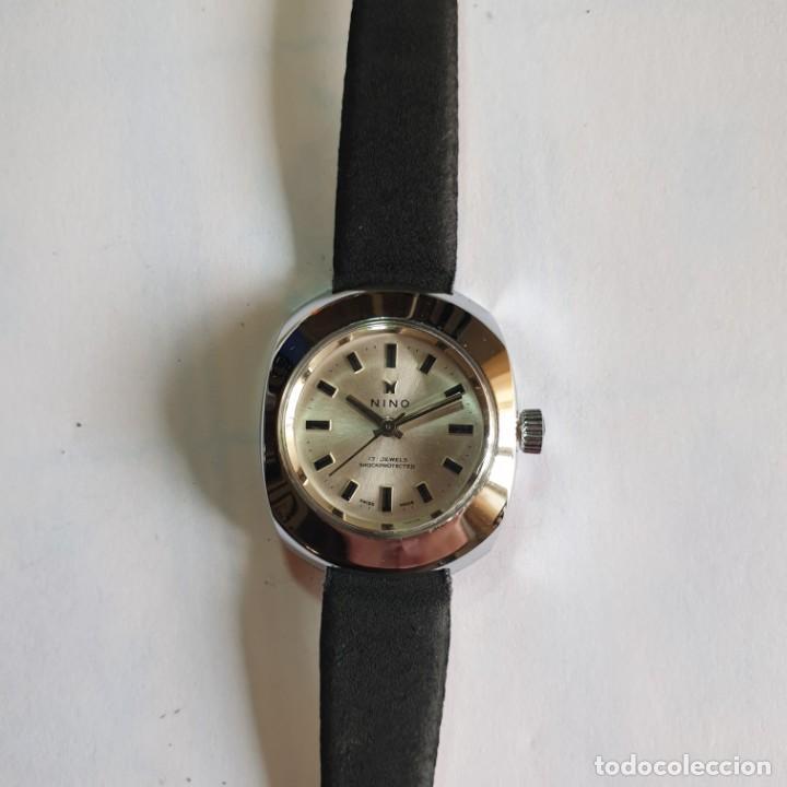 Relojes de pulsera: RELOJ NINO SEÑORA 17 JEWELS - CUERDA - CARGA MANUAL - NUEVO DE MUESTRARIO - 2,5x3 cm - Foto 2 - 229105315