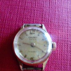 Relojes de pulsera: MINÚSCULO RELOJ CAUNY DESIR DE MUJER. Lote 229663510