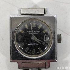 Relojes de pulsera: RELOJ DE PULSERA - MARCA LONLAY WATCH, GRAN LUXE SUPER 21, ANTIMAGNETIC - SWISS MADE. Lote 244487350