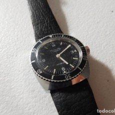 Relojes de pulsera: RELOJ DE CARGA MANUAL DE LA MARCA RUWAL 17 JEWELS DIVER. Lote 230563340