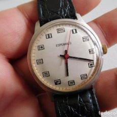 Relojes de pulsera: RELOJ DE CARGA MANUAL DE LA MARCA ESPERANTO. Lote 230903080
