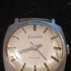 Relojes de pulsera: DUWARD SILVER SRA. CAJA DE PLATA. Lote 231052505