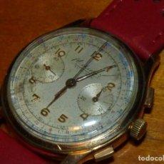 Orologi da polso: ELEGANTE RELOJ CRONOMETRO MEDIATOR CALIBRE LANDERON 48 SWISS MADE 17 RUBIS AÑOS 40. Lote 231070940